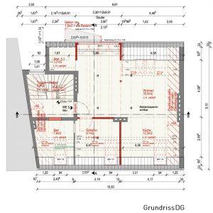 Mehrfamilienhaus Zinshaus Denkmalschutz Hamburg Ottensen Projektentwicklung Eigentumswohnungen Umbau Sanierung Dachausbau Historische Fassade Dachgeschoss