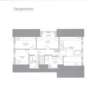 Reetdach Haus Föhr Oldsum Sylt Amrum Grundriss Dachgeschoss Schlafzimmer Bäder Master-Bedroom En-Suite-Bad