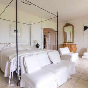 Villa Les Parcs de Saint-Tropez Cote d`Azur Meerblick Schlafzimmer En-Suite-Bad