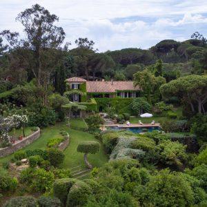 Villa Les Parcs de Saint-Tropez Cote d`Azur Meerblick Pool Terrasse Garten