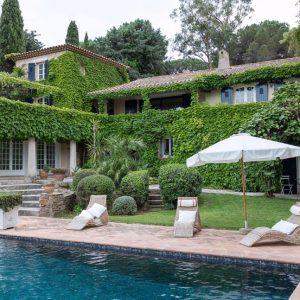 Villa Les Parcs de Saint-Tropez Cote d`Azur Meerblick
