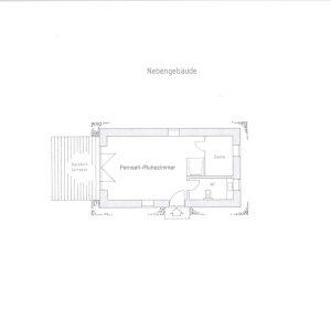 Reetdach Haus Föhr Oldsum Sylt Amrum Grundriss Nebengebäude Gästehaus Saunahaus En-Suite-Bad