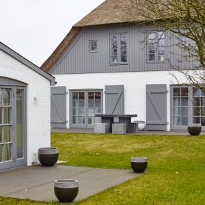 Reetdach Haus Föhr Oldsum Sylt Amrum Gästehaus