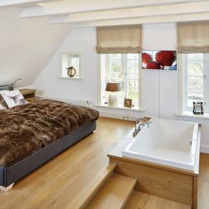 Reetdach Haus Föhr Oldsum Sylt Amrum Master-Bedroom Bad-Ensuite