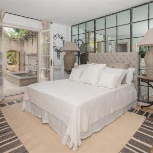 Villa Cote d`Azur Saint-Tropez Ramtuelle Meerblick Pampelonne Schlafzimmer