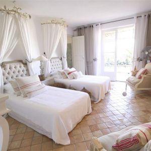 Villa Cote d`Azur Saint-Tropez Ramtuelle Meerblick Pampelonne Schlafzimmer Kinderzimmer