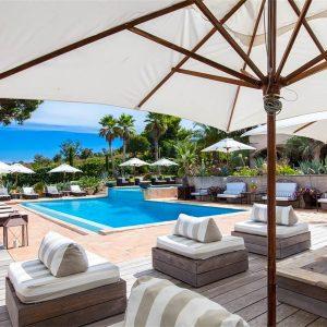 Villa Cote d`Azur Saint-Tropez Ramtuelle Meerblick Pampelonne Terrasse Lounge Pool