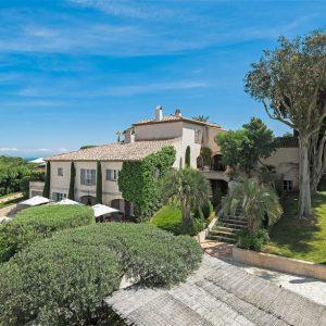 Villa Cote d`Azur Saint-Tropez Ramtuelle Meerblick Pampelonne Ferienhaus Meerblick