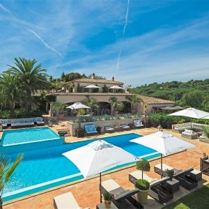 Villa Cote d`Azur Saint-Tropez Ramtuelle Meerblick Pampelonne Pool Ferienhaus Meerblick