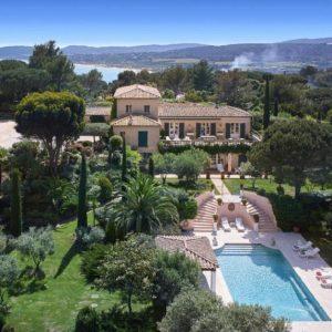 Villa Saint-Tropez Cote d`Azur Meerblick Pool Terrasse
