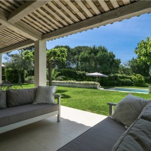 Villa unweit vom Strand Saint-Tropez Pool Terrasse