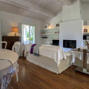 Villa unweit vom Strand Saint-Tropez Wohnen Kamin
