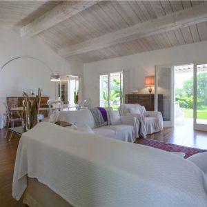 Villa unweit vom Strand Saint-Tropez Wohnen Essen
