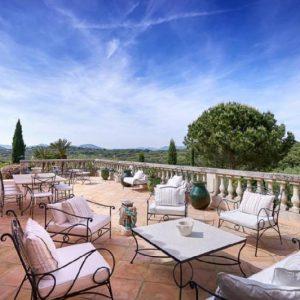 Saint-Tropez Cote d`Azur Meerblick Pool Terrasse Lounge
