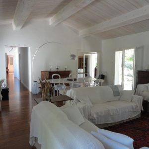 Villa Saint-Tropez Cote d`Azur Parc de la Moutte Charmantes Haus Wohnzimmer