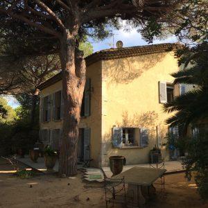 Villa Saint-Tropez Cote d`Azur Meerblick Parc des Salins Bastide Charmantes Haus Garten