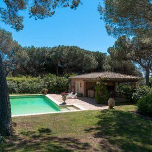 Villa Saint-Tropez Cote d`Azur Terrasse Poolhaus
