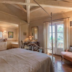 Villa Saint-Tropez Cote d`Azur Schlafzimmer