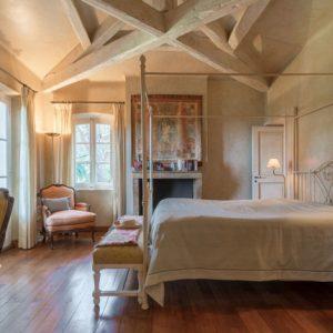Villa Saint-Tropez Cote d`Azur Schlafzimmer Master-Bedroom Bad-Ensuite