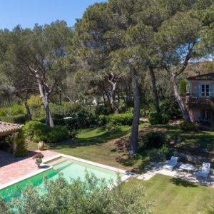 Villa Saint-Tropez Cote d`Azur Pool und Poolhaus