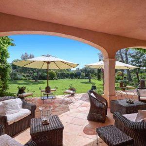Saint-Tropez Cote d`Azur Terrasse Lounge
