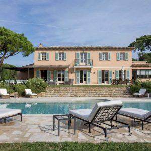 Villa Saint-Tropez Bastide du Pinet Cote d`Azur Pool Terrasse Haus Garten