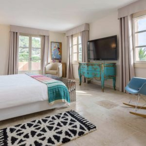 Villa Saint-Tropez Bastide du Pinet Cote d`Azur Ferienhaus Master-Bedroom Suite Schlafzimmer