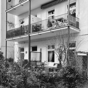 Eigentumswohnung Altbau Wohnung Eimsbüttel Hochparterre Erdgeschoss Terrasse Garten Jugendstil