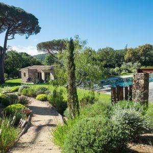 Villa Saint-Tropez Ramatuelle Bastide Cote d`Azur Ferienhaus Pool Garten