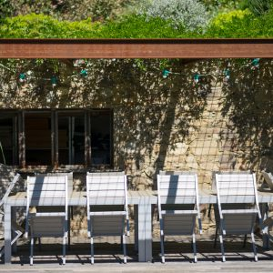 Villa Saint-Tropez Ramatuelle Bastide Cote d`Azur Ferienhaus Garten Sommerküche Terrasse