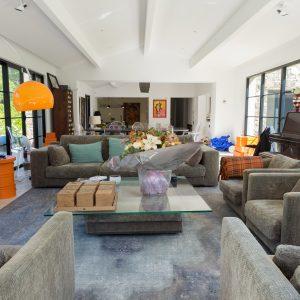 Villa Saint-Tropez Ramatuelle Bastide Cote d`Azur Ferienhaus Wohnzimmer Loft