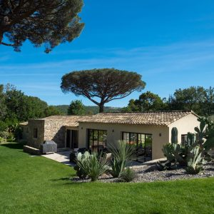 Villa Saint-Tropez Ramatuelle Bastide Cote d`Azur Ferienhaus Garten