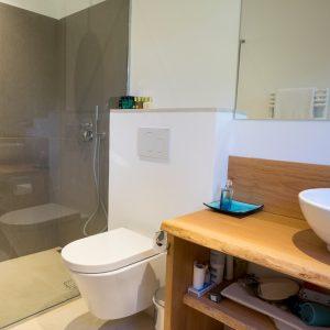Villa Saint-Tropez Ramatuelle Bastide Cote d`Azur Ferienhaus Duschbad