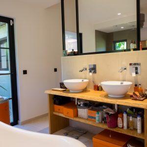 Villa Saint-Tropez Ramatuelle Bastide Cote d`Azur Ferienhaus Master-Bad Ensuite