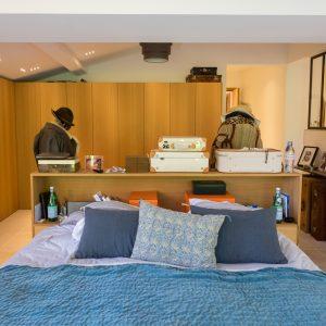 Villa Saint-Tropez Ramatuelle Bastide Cote d`Azur Ferienhaus Master-Schlafzimmer Ankleide