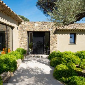 Villa Saint-Tropez Ramatuelle Bastide Cote d`Azur Ferienhaus Eingang