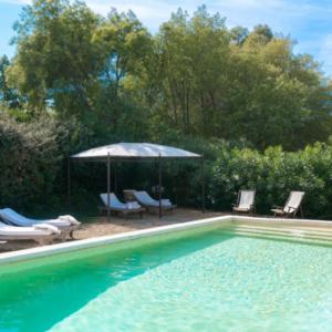 Villa Saint-Tropez Ramatuelle Landsitz Cote d`Azur Ferienhaus Pool Garten Terrasse