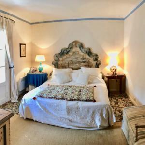 Villa Saint-Tropez Cote d`Azur Stadthaus Schlafzimmer