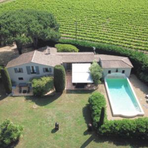 Villa Saint-Tropez Ramatuelle Landsitz Cote d`Azur Ferienhaus Pool Garten Terrasse Weinfelder