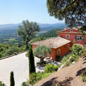 Villa La Garde Freinet Landsitz Cote d`Azur Ferienhaus Pool Terrasse Weitblick Poolhaus