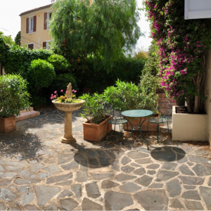 Villa Saint-Tropez Cote d`Azur Stadthaus Terrasse