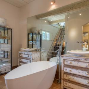 Villa Saint-Tropez Ramatuelle Landsitz Cote d`Azur Ferienhaus Vollbad