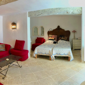Villa Saint-Tropez Cote d`Azur Stadthaus Schlafzimmer Vorzimmer