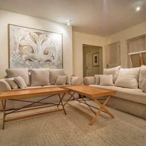 Villa La Garde Freinet Landsitz Cote d`Azur Ferienhaus Salon Wohnzimmer