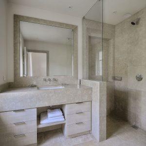 Villa Saint-Tropez Ramatuelle Cote d`Azur Ferienhaus Duschbad