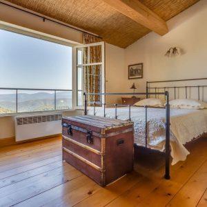 Villa La Garde Freinet Landsitz Cote d`Azur Ferienhaus Schlafzimmer