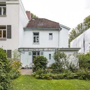 Jugendstilhaus mit Entwicklungspotenzial Hamburg Lokstedt Garten