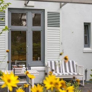 Jugendstilhaus mit Entwicklungspotenzial Hamburg Lokstedt Terrasse