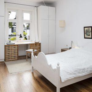 Jugendstilhaus mit Entwicklungspotenzial Hamburg Lokstedt Schlafzimmer