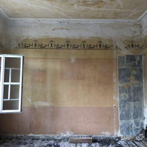 Stadtvilla Villa Altbau Hamburg Ottensen Projektentwicklung Umbau Sanierung Dachausbau Historische Wandmalerei Altbau